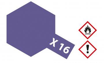 X-16 Purpur · TA 81016 ·  Tamiya