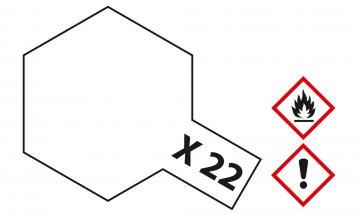 X-22 Klar-Lack · TA 81022 ·  Tamiya