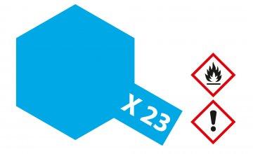 X-23 Klar-Blau · TA 81023 ·  Tamiya