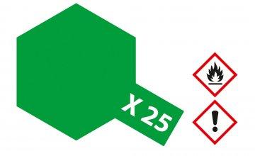 X-25 Klar Grün · TA 81025 ·  Tamiya
