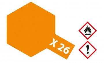 X-26 Klar-Orange · TA 81026 ·  Tamiya