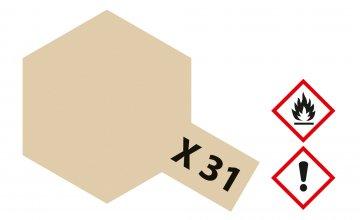 X-31 Titanium Gold · TA 81031 ·  Tamiya