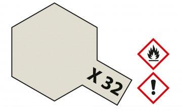 X-32 Titanium Silber · TA 81032 ·  Tamiya