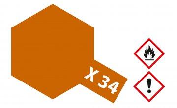 X-34 Metallic Braun - glänzend [23ml] · TA 81034 ·  Tamiya