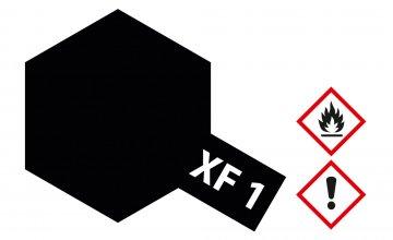 XF-1 Matt-Schwarz · TA 81301 ·  Tamiya