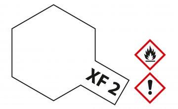 XF-2 Weiß - matt [23ml] · TA 81302 ·  Tamiya