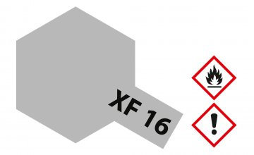 XF-16 Aluminium - matt [23ml] · TA 81316 ·  Tamiya