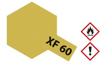 XF-60 Dunkel-Gelb · TA 81360 ·  Tamiya