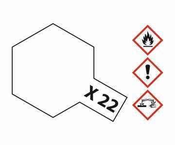X-22 Klarlack - glänzend [10 ml] · TA 81522 ·  Tamiya
