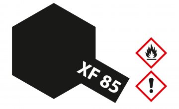 XF-85 Gummi-schwarz matt 10ml Acryl · TA 81785 ·  Tamiya