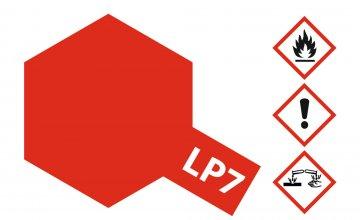 LP-7 Rot (Pur) glänzend [10ml] · TA 82107 ·  Tamiya