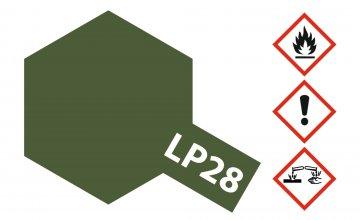 LP-28 Braunoliv matt [10ml] · TA 82128 ·  Tamiya