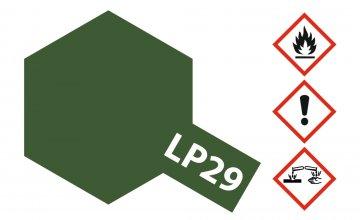 LP-29 Braunoliv 2 matt [10ml] · TA 82129 ·  Tamiya