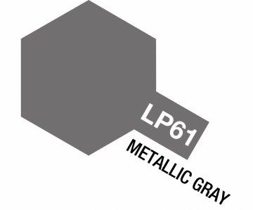 LP-61 Metallic Grau matt 10ml · TA 82161 ·  Tamiya