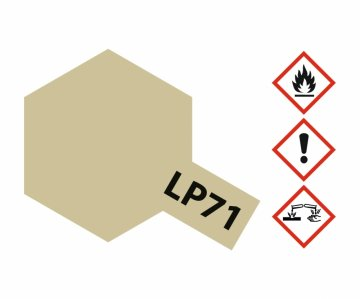 LP-71 Champagner Gold - glänzend - 10ml · TA 82171 ·  Tamiya