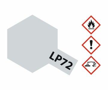 LP-72 Mica Silber - glänzend (Glimmer) - 10ml · TA 82172 ·  Tamiya
