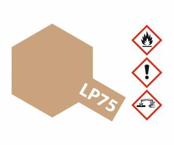 LP-75 Buff (Gelbbraun) matt (10 ml) · TA 82175 ·  Tamiya