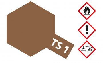 TS-1 Rot-Braun · TA 85001 ·  Tamiya