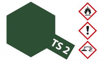 TS-2 Dunkel-Grün · TA 85002 ·  Tamiya