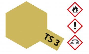 TS-3 Dunkelgelb · TA 85003 ·  Tamiya