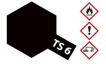 TS-6 Matt-Schwarz · TA 85006 ·  Tamiya