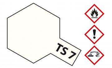 TS-7 Racing-Weiß · TA 85007 ·  Tamiya
