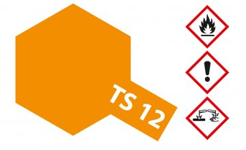 TS-12 Orange · TA 85012 ·  Tamiya