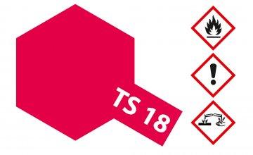 TS-18 Metallic-Rot · TA 85018 ·  Tamiya