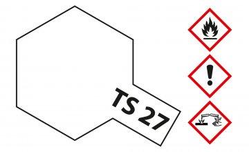 TS-27 Matt-Weiß · TA 85027 ·  Tamiya