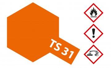 TS-31 Leucht-Orange · TA 85031 ·  Tamiya