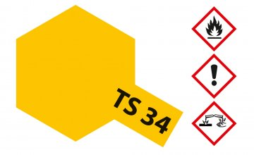 TS-34 Camel Gelb · TA 85034 ·  Tamiya