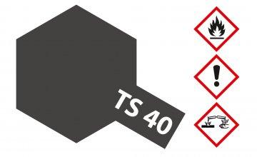 TS-40 Metallic-Schwarz · TA 85040 ·  Tamiya