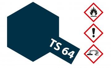 TS-64 Dark Mica Blue · TA 85064 ·  Tamiya