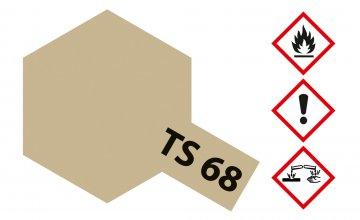 TS-68 Wooden Deck · TA 85068 ·  Tamiya
