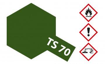 TS-70 Olive Düster · TA 85070 ·  Tamiya