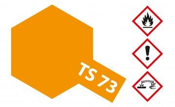 TS-73 Orange (Klar) · TA 85073 ·  Tamiya