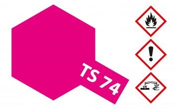 TS-74 Rot (Klar) · TA 85074 ·  Tamiya