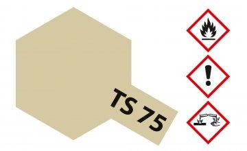 TS-75 Champagner Gold · TA 85075 ·  Tamiya