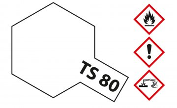 TS-80 Klarlack matt · TA 85080 ·  Tamiya