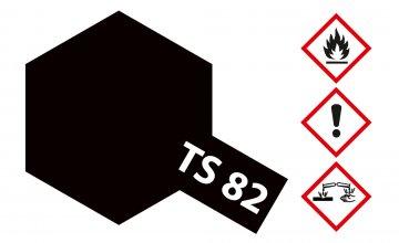 TS-82 Gummi-Schwarz - matt - 100ml · TA 85082 ·  Tamiya