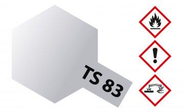 TS-83 Metallic Silber glänzend 100ml · TA 85083 ·  Tamiya