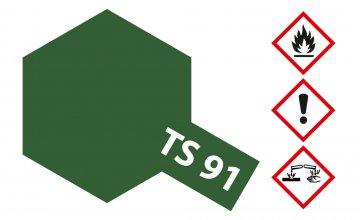 TS-91 JGSDF Dunkelgrün 100ml Spray · TA 85091 ·  Tamiya