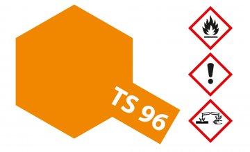 TS-96 Neon-Orange glänzend 100ml · TA 85096 ·  Tamiya