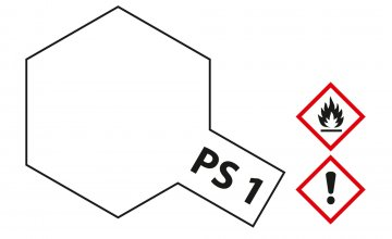 PS-1 Weiss Polycarbonat 100ml · TA 86001 ·  Tamiya
