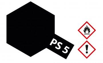PS-5 Schwarz Polycarbonat 100ml · TA 86005 ·  Tamiya