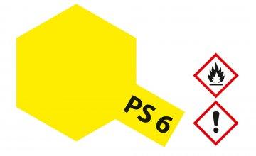 PS-6 Gelb Polycarbonat 100ml · TA 86006 ·  Tamiya