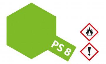 PS-8 Hellgrün Polycarbonat 100ml · TA 86008 ·  Tamiya