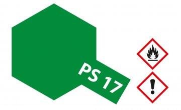 PS-17 Metallic Grün Polycarbonat 100ml · TA 86017 ·  Tamiya