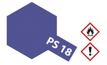PS-18 Metallic Violett Polycarb. 100ml · TA 86018 ·  Tamiya