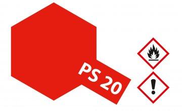 PS-20 Neon Rot Polycarbonat 100ml · TA 86020 ·  Tamiya